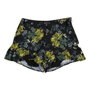 Free people flowered shorts